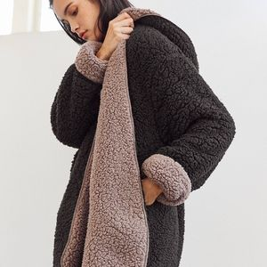 Urban Outfitters Cozy Reversible Coat